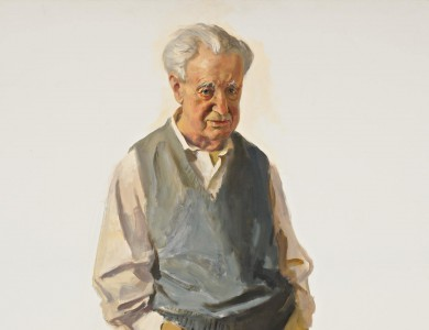 Portrait of Artist's Father Vladimir Gervits 2003