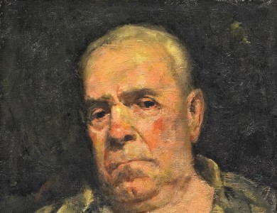 Portrait of the Artist's Grandfather Abraham Gurevich